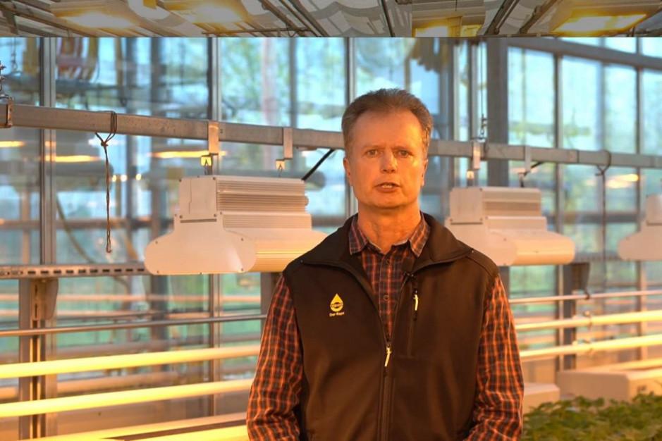 dr Carsten Oertel, hodowca rzepaku Fot. Screen z platformy
