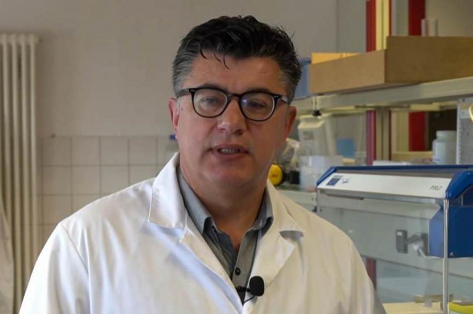 Dr Zeljko Micic – kierownik laboratorium DSV Thüle Fot. Screen z platformy