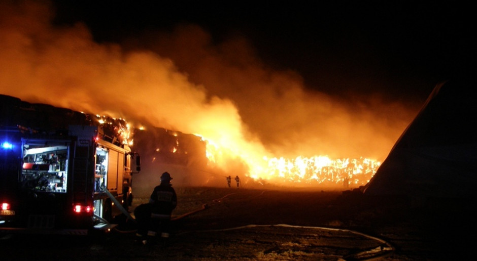 Podpalacz odpowie za 14 pożarów