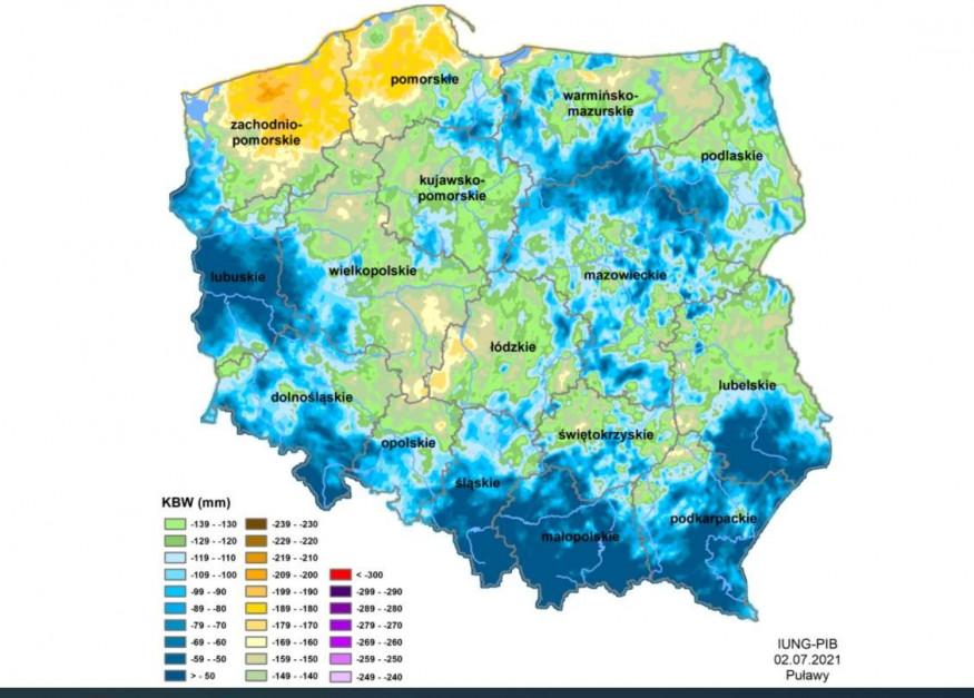 Źródło: IUNG-PIB Puławy