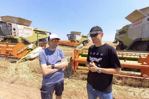 Farmer w Rumunii: Wyzwanie na dziś? Skosić 300 ha pszenicy!