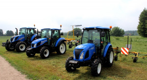 New Holland zaprezentował na Mazowszu maszyny zielonkowe