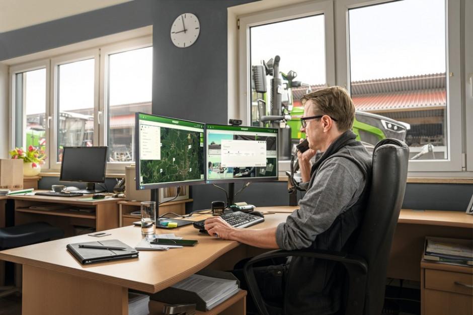 FendtONE - Maszyna i biuro stają się jednym fot. mat. prasowe