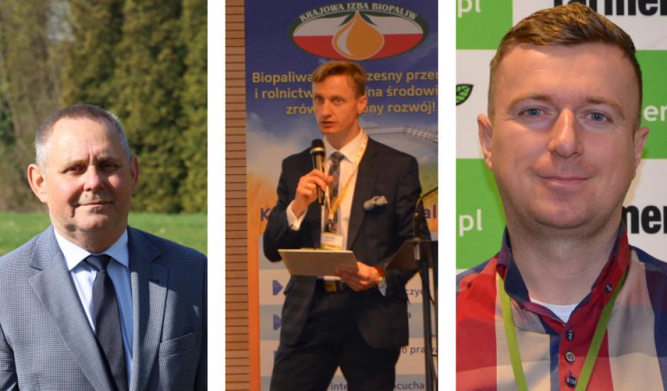 Juliusz Młodecki, Adam Stępień i Łukasz Pergoł wypowiadają się na temat umów terminowych na surowce rolne
