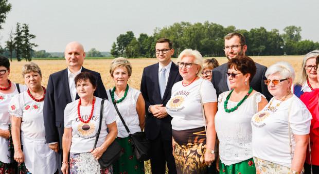 Premier: Rząd PiS zrobi wszystko, żeby polskie rolnictwo dominowało w Europie