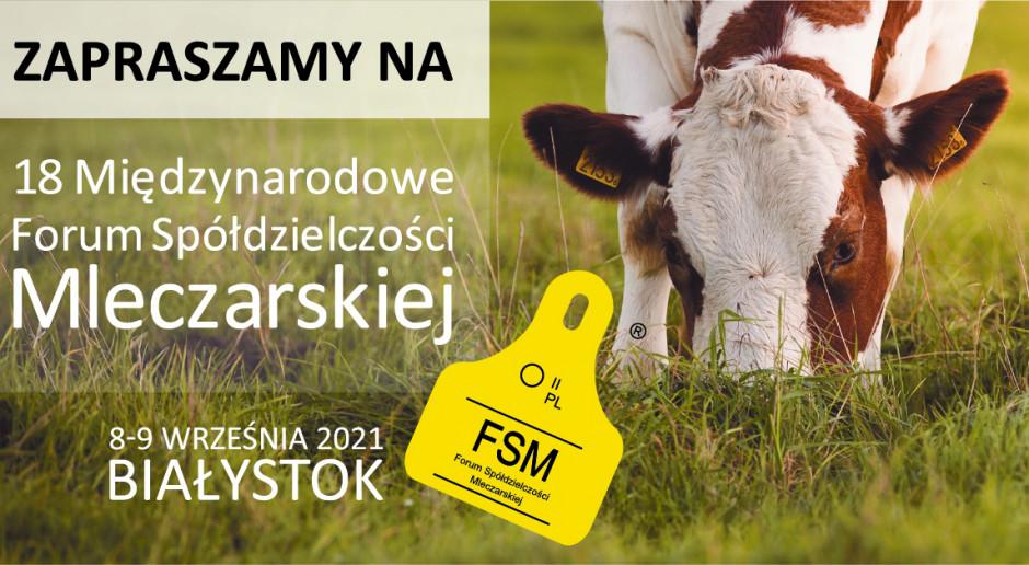 18 Międzynarodowe Forum Spółdzielczości Mleczarskiej już we wrześniu 2021 r.!
