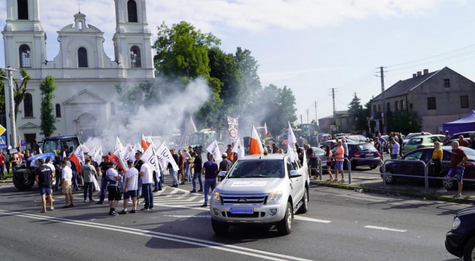 """Dziennikarz Farmera poszkodowany na proteście. """"To niedopuszczalne"""""""