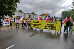 Protest rybaków. Droga na Hel była zablokowana [Galeria]