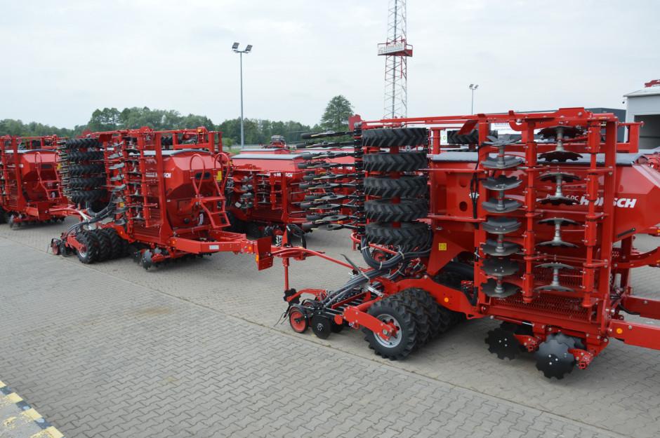 W nowym punkcie dilerskim Agro Sznajder została zaprezentowana szeroka oferta maszyn Horsch. Zdjęcie: Wołosowicz
