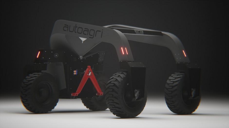 Robot Autoagri został wyposażony w klasyczny TUZ kategorii II. Zdjęcie: Autoagri