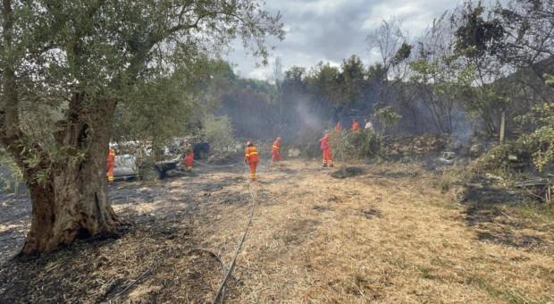 Lokalne władze alarmują: Pożary na Sardynii to katastrofa bez precedensu