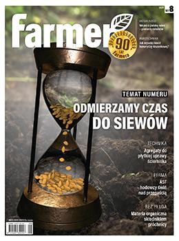 Miesięcznik Farmer 8/2021
