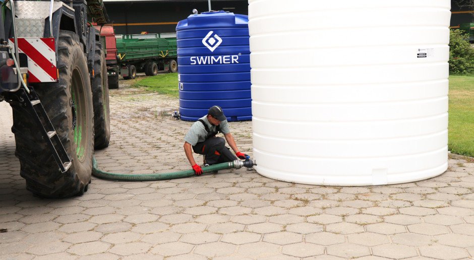 Magazynowanie wody deszczowej w gospodarstwie rolnym