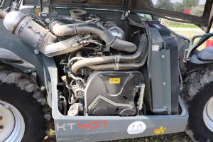 Silnik Deutza generuje 136KM mocy maksymalnej, co zdaniem operatorów jest wartością wpełni wystarczającą