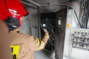 Pożar w zakładzie mięsnym na Lubelszczyźnie