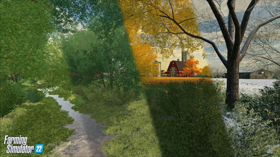 W grze Farming Simulator 22 pojawią się pory roku, które będą miały wpływ na plonowanie roślin. Zdjęcie: Giants Software