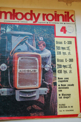 """90 lat techniki rolniczej w""""Farmerze"""""""