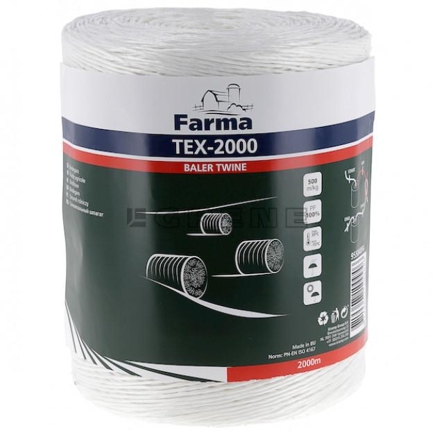 Sznurek do maszyn rolniczych Tex-2000 2000 m