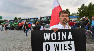 Łódzkie: rolnicy z AGROunii rozpoczęli blokadę dk nr 12