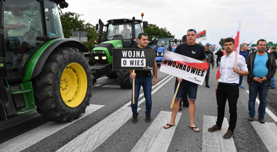 Kołodziejczak podczas blokady dk 12: Sytuacja polskiego rolnictwa jest tragiczna