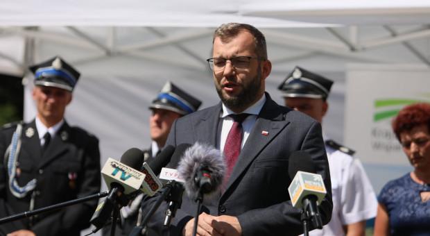 Minister Puda o pomocy dla rolników-pogorzelców z Nowej Białej