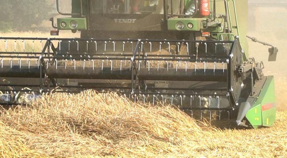 Pogoda w weekend  pozwoliła wielu rolnikom dokończyć żniwa