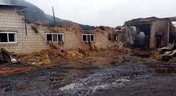 Uderzył piorun - spłonęły trzy budynki