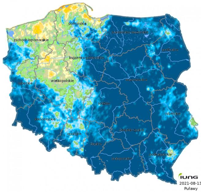 Źródlo: IUNG-PIB w Puławach