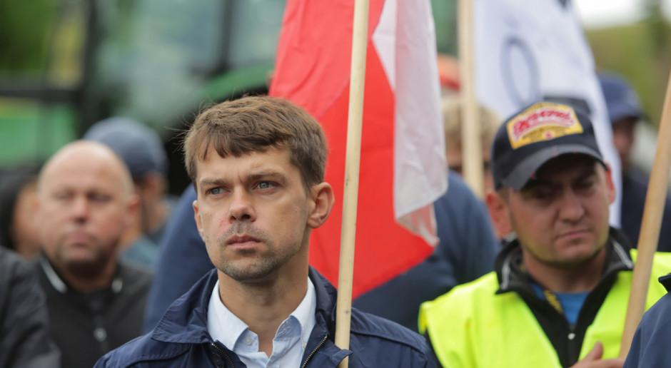 Kołodziejczak: W przyszłym tygodniu blokady w kilkunastu miejscach Polski