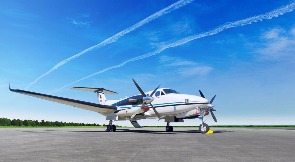 Kolejna maszyna we flocie Pronaru... samolot Beechcraft King Air 350i