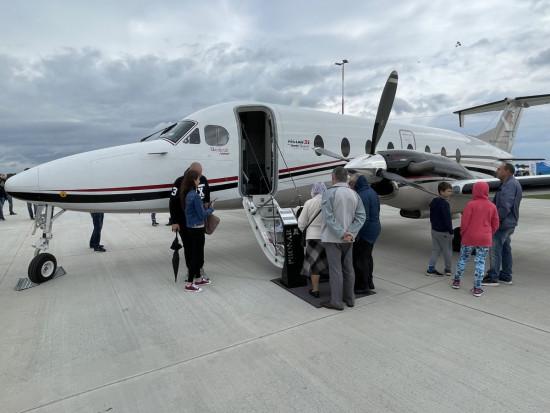 Samolot Beechcraft 1900D - największy we flocie Pronaru, fot. Pronar