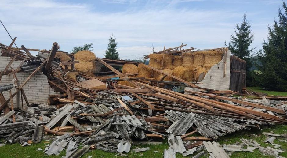 Milionowe straty po dwóch nawałnicach na Lubelszczyźnie