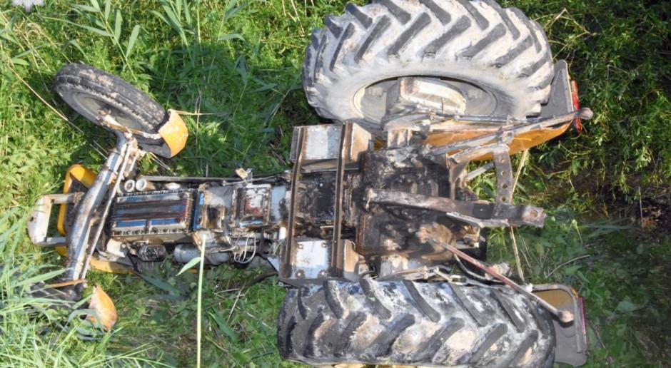 Nie żyje rolnik przygnieciony przez traktor
