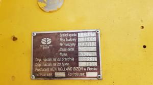 New Holland TC59 Bizon o numerze 113 z 119 wyprodukowanych w Płocku