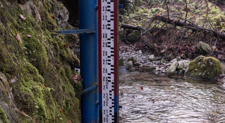 Stany alarmowe przekroczone w rzekach na południu woj. śląskiego