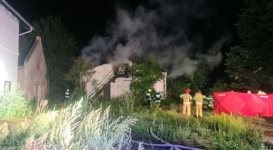 Trzy ofiary w pożarze stodoły na Dolnym Śląsku