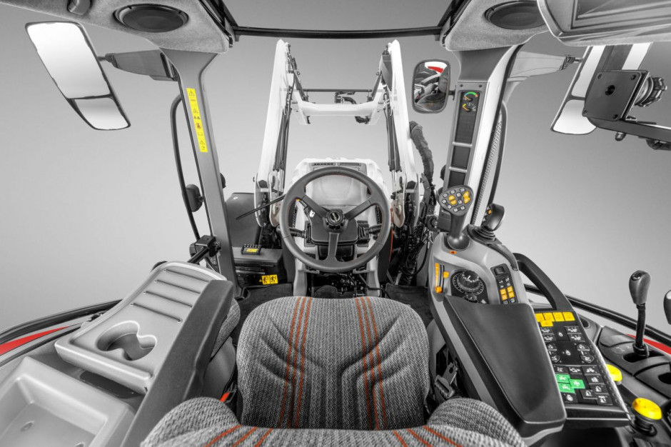 Nowa linia ładowaczy czołowych jest kompatybilna z gamą ciągników Steyr od modeli Kompakt S i Kompakt, poprzez serie Multi, Expert CVT i Profi, po modele Impuls CVT i Absolut CVT fot. mat. prasowe