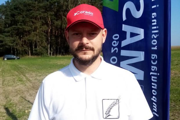 Michał Lewandowski, dyrektor handlowy – Polska centralna z firmy Nasiona Wronkowski, fot. Nasiona Wronkowski