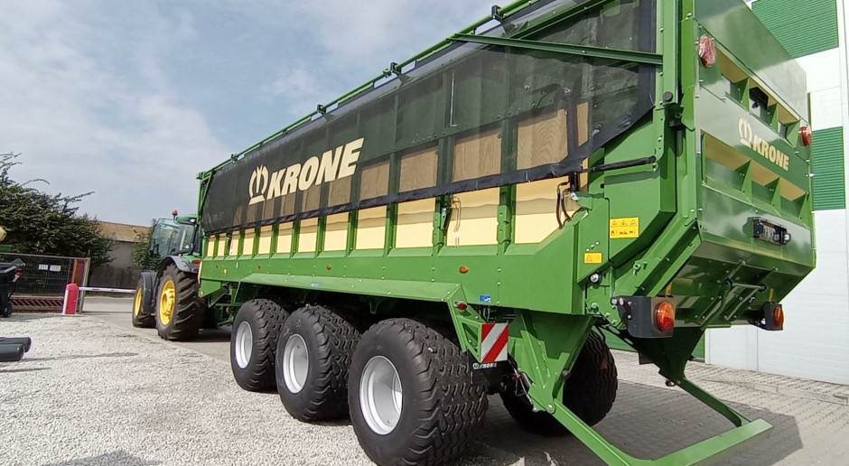 Agromix przedstawia Krone GX 520  i Krone V 165 XC Plus