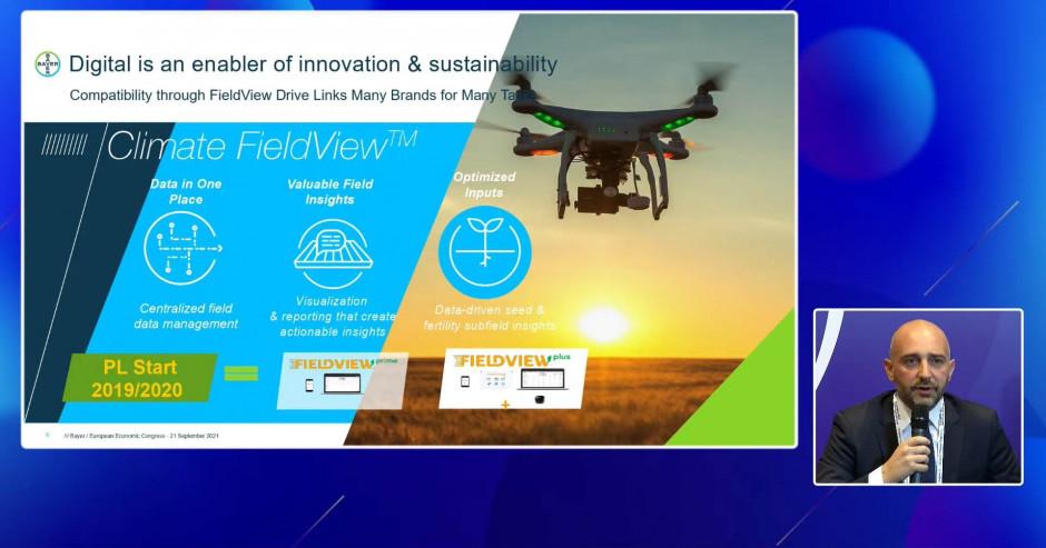 Cyfryzacja umożliwia innowacyjność i zrównoważony rozwój - mówił na EEC 2021 Antoine Bernet, Crop Science Country Division Head, Bayer