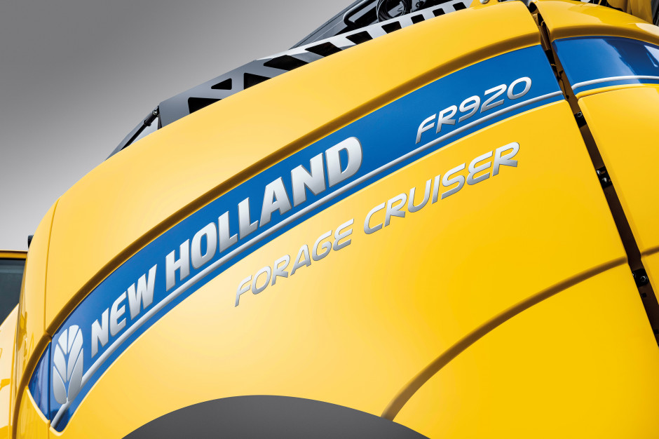 New Holland FR 920 sieczkarnia samobieżna fot. New Holland