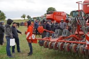 Pokazy maszyn Horsch w Polsce. Co najbardziej interesowało rolników?