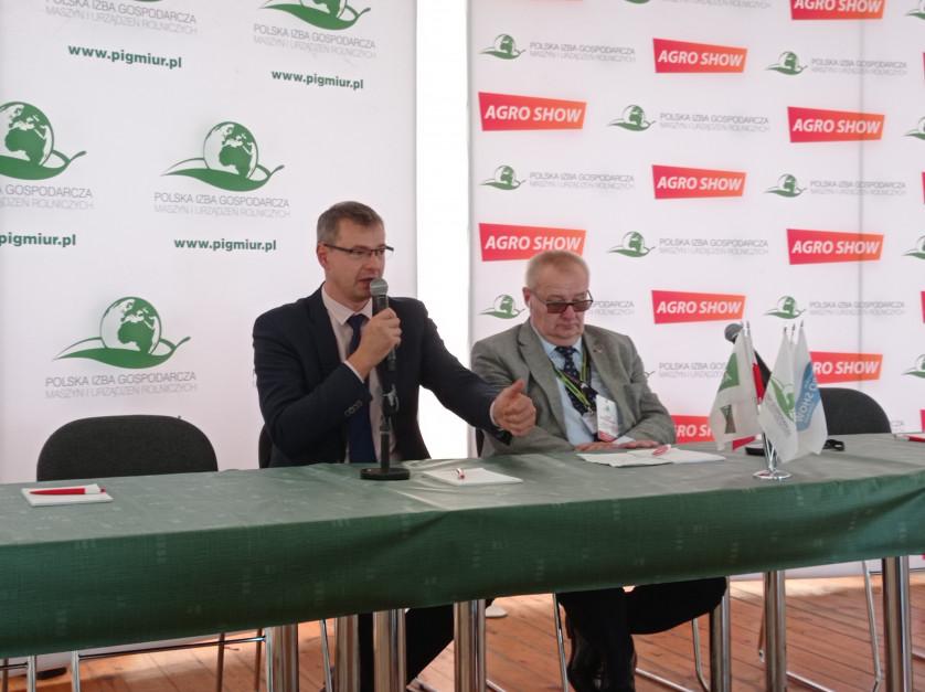 Targi minęły spokojnie, a rolnicy nie zapomnieli o Agro Show - powiedział Michał Spaczyński wiceprezes PIGMiUR
