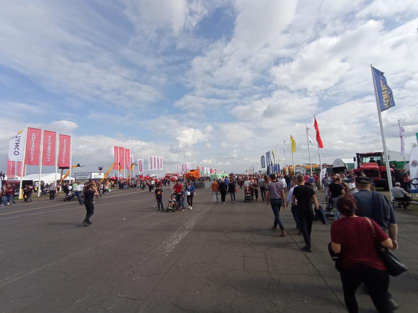 125 tys. zwiedzających odwiedziło tegoroczną wystawę Agro Show fot. Adam Ładowski