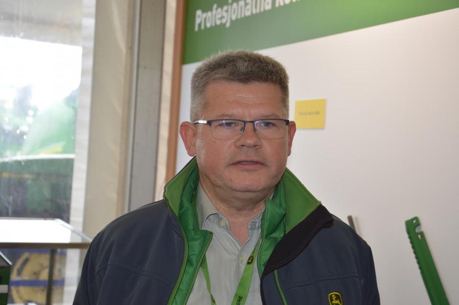 Piotr Iżyniec, szef działu rozwoju sieci dilerskiej. Zdjęcie: Wołosowicz