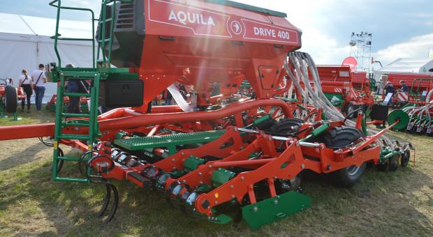 Agro-Masz Aquila: prototyp siewnika półzawieszanego