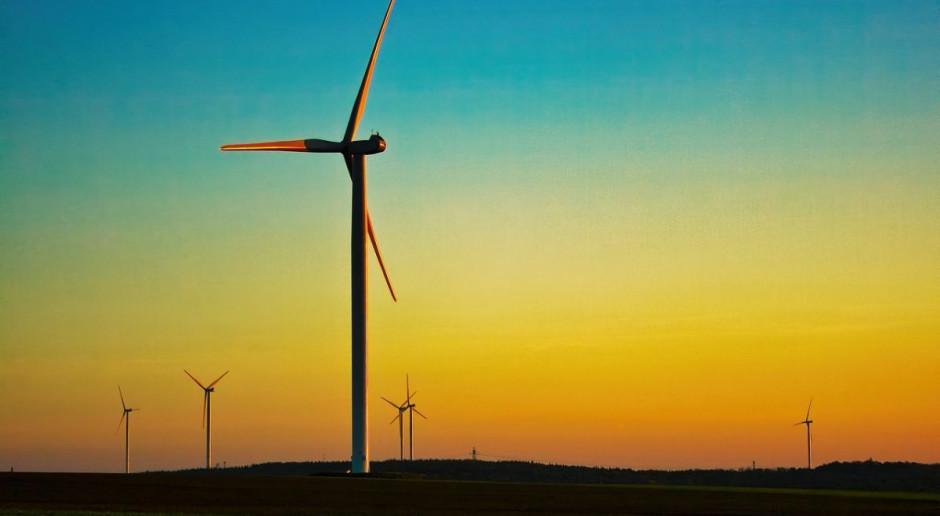 Zawaliła się turbina wiatrowa