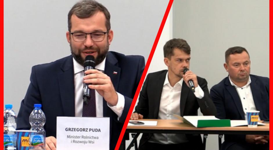 Minister Puda po spotkaniu z Kołodziejczakiem - czy będą dalsze, wspólne prace?