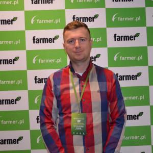 Łukasz Pergoł, rolnik z województwa warmińsko-mazurskiego,
