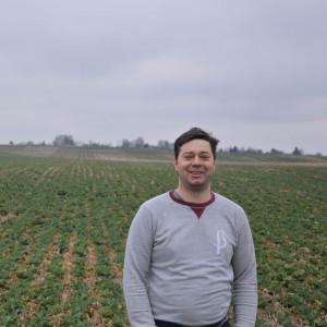 Michał Sawicki, rolnik z województwa lubelskiego,